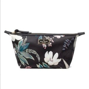 NWT Kate Spade Botanical Jodi Floral Cosmetic Bag